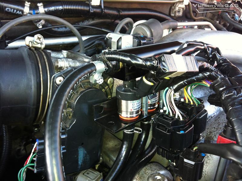 Гбо на Mitsubishi Pajero Wagon 3.0