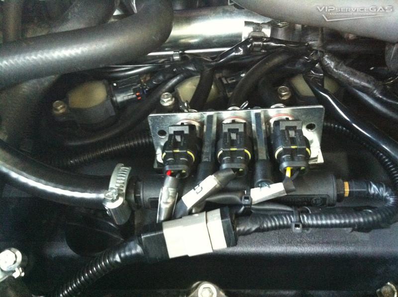 Газ на Mitsubishi Pajero Sport 3.0