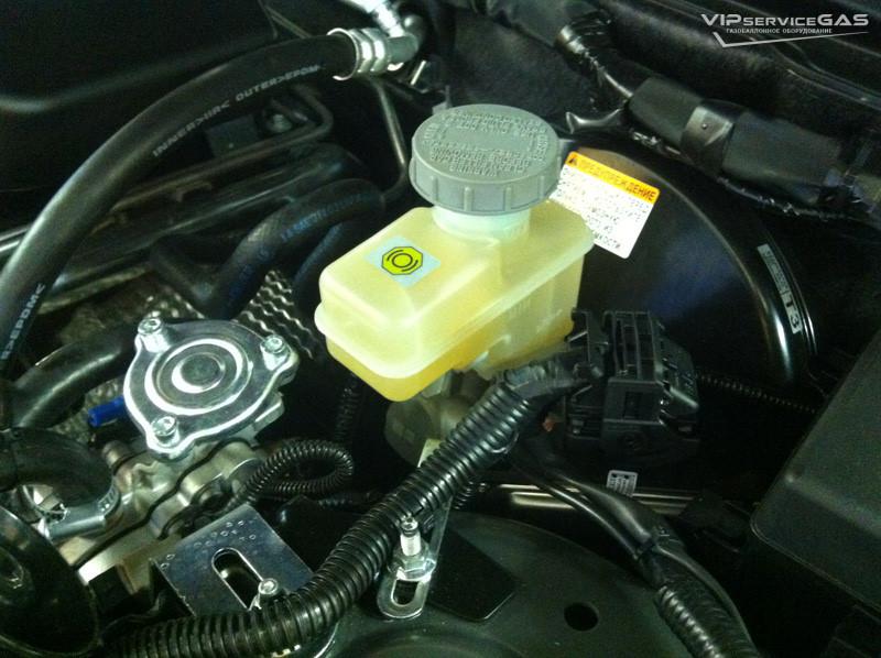Установка гбо на Lexus LX 570 5.7