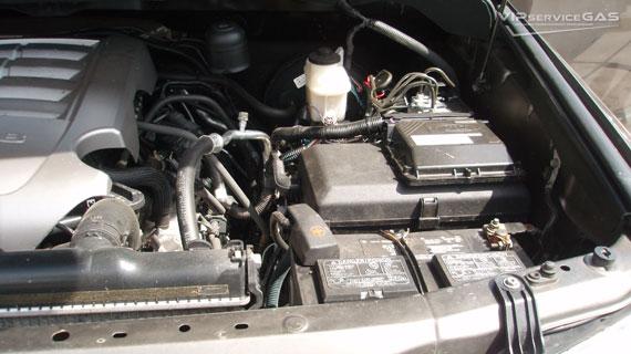 Газ на Тойота Тундра