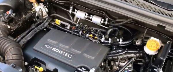 Газовое оборудование на Chevrolet Trax 1.4 Turbo 2017