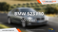 видео гбо bmw 523 f10
