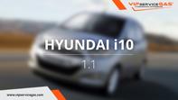 видео гбо Hyundai i10 1.1