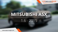 видео гбо mitsubishi asx 1.6