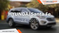 видео гбо Hyundai Santa Fe