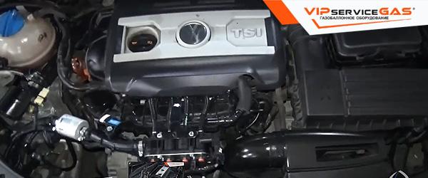 Газ на Volkswagen Passat CC
