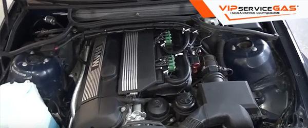 Газ на BMW e46