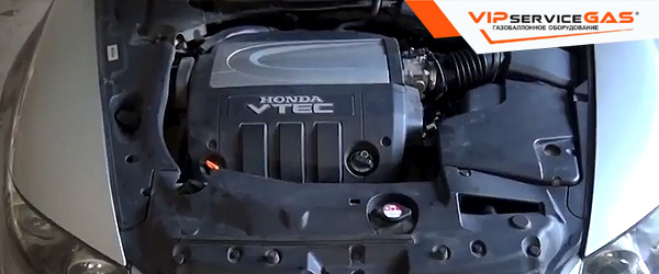 Газ на Honda Legend 3.7