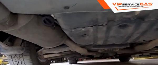 Установка гбо на Honda Legend 3.7
