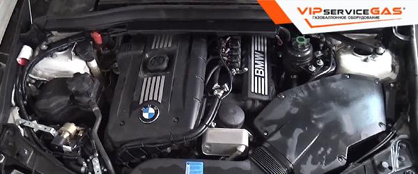 Газ на BMW X1 2010