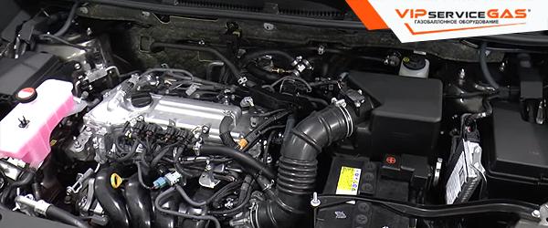 Установка гбо на Toyota RAV4 2.0 2015