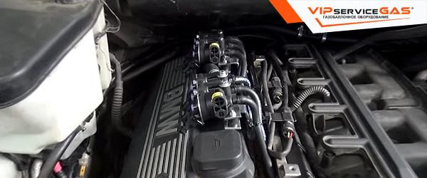 Гбо на BMW X5 2008