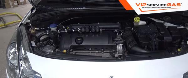 Газ на Citroen DS3