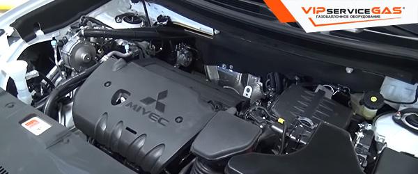 Установка гбо на Mitsubishi Outlander - 2015