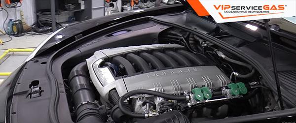 Газ на Porsche Cayenne 3.6 FSI