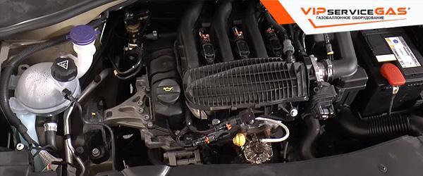 Газ на Peugeot 301 1.2