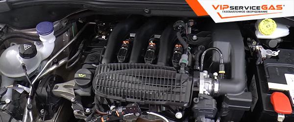 Установка гбо на Peugeot 208 1.2