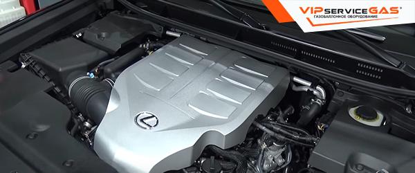 Газ на Lexus GX 460 2014