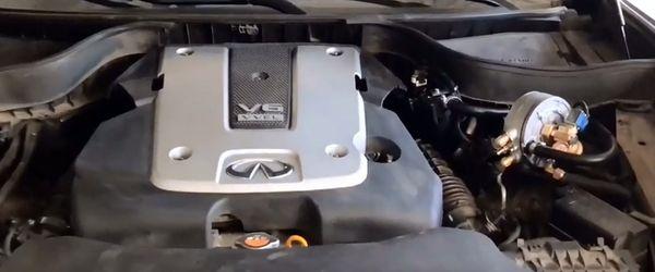 Установка гбо на Infiniti QX70 3.7 V6 333 hp AWD 2015