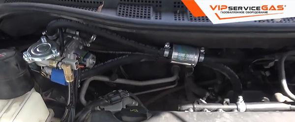 Установка гбо на Mazda 5