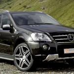 Установка ГБО на Mercedes-Benz ML550 — 382 л.с.